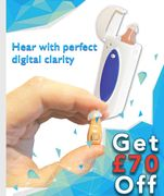 Save £70 On The Mini Rechargeable Digital Hearing Aid