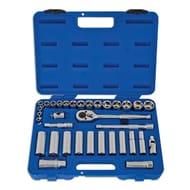 Laser Socket Set 3/8d 34pc