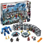 LEGO 76125 Marvel Avengers Iron Man Hall of Armor, Modular Lab
