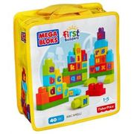 Mega Bloks 40 Piece Bag ABC Spell
