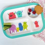 Monsters of the World Snack Tray