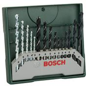 Bosch Home and Garden 15pc Mixed Mini X-Line Drill Set,