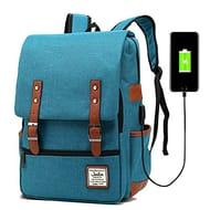 Junlion Unisex Business Laptop Backpack College Student School Bag