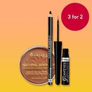 3 for 2 on Selected Rimmel, Maybelline and Lee Stafford - Cheapest Free
