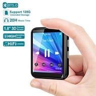 MP3 Player, 16GB Bluetooth 5.0 Music Player