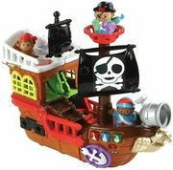 VTech Toot Toot Kingdom Light up Buttons Pirate Ship Playset