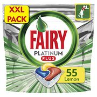 Fairy Platinum plus Lemon Dishwasher - 55 Tablets