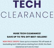 Save up to a Massive 75% off Loads of Bestselling Tech at Iwoot