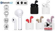 Wireless Apple & Android Compatible Earbuds & Charge Case - 5 Colours