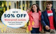 50% off Waterproof Jackets