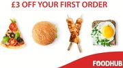 Save £3 off First Order & Extra 20% Restaurant Discount