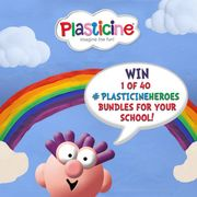 WIN a PlasticineHeroes Mega Bundle worth over £150 for Your School!