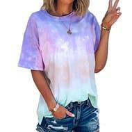 Womens Summer T-Shirt at Amazon