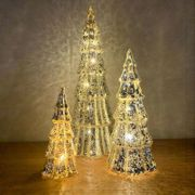 LED Glass Mercury Christmas Tree - Large