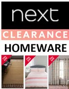 NEXT CLEARANCE - HOMEWARE