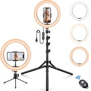 50% Off 10.2 LED Selfie Ring Light with Stand