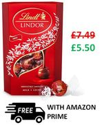Lindt Lindor Milk Chocolate Truffles - SEND SOMEONE A LITTLE HAPPINESS!