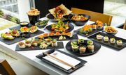 63% off Unlimited Asian Tapas and a Bottle of Prosecco or Wine or Five Beers