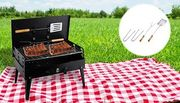 Lightweight Portable Folding Barbecue Set