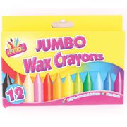 12 X Jumbo Wax Crayons Only £1.70 at Amazon (Prime Delivery)