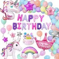 Unicorn Birthday Decorations Lightening Deal