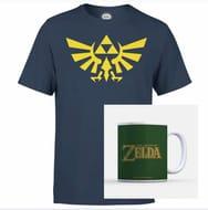 Nintendo the Legend of Zelda Hyrule Kid's T-Shirt & Mug FREE DELIVERY