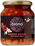 Biona Organic Baked Beans in Tomato Sauce 340 G