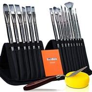 17Pcs Artist Paint Brushes Set Only £19.19