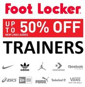 Trainers. Trainers. Trainers. Up to 50% OFF Nike & Adidas - FOOT LOCKER SALE