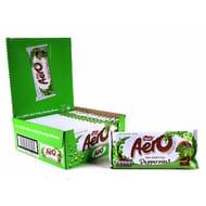 15 X Nestle Aero Peppermint 100g Chocolate Bars Sharing Blocks