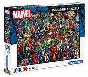 Clementoni Marvel Impossible Jigsaw Puzzle 1000 Pieces (Age 14+)