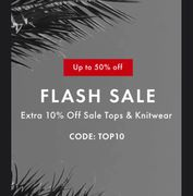 Flash Sale | Extra 10% off Sale Tops and Knitwear