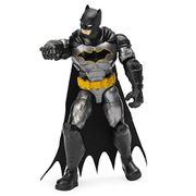 BATMAN 6056744, 4-Inch Rebirth Tactical Action Figure with 3 Mystery Accessories
