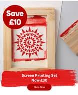 Screen Printing Set £10 Off