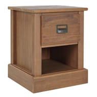 Argos Home Drury 1 Drawer Bedside Table - Pine