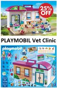 SAVE £10 - Playmobil Vet Clinic + FREE DELIVERY **4.8 STARS**
