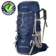 65L Hiking Backpack Waterproof Large Trekking Rucksack