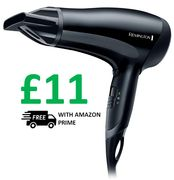 Remington D3010 Power Dry Lightweight Hair Dryer, FREE DELIVERY with PRIME