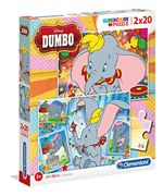 Puzzle-Dumbo-2x 20 Pieces
