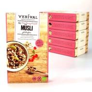 6 X Verival Cranberry & Cherry Muesli 300g Boxes