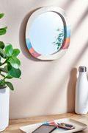 Soft Stripe Wall Mirror