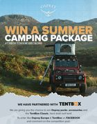 WIN the Ultimate TentBox & Osprey Europe Camping and Hiking Bundle!