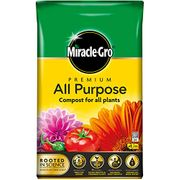 Miracle-Gro All Purpose Enriched Compost 40L Home Garden Planting Growing Soil