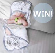 Win a BabyDam Hooded Bath Towel.