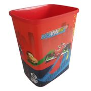 CARS Bin Kids Waste Rubbish Bedroom Paper Plastic 25