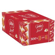 Lotus X300 Biscoff Biscuits - Individually Wrapped Caramelised Biscuits
