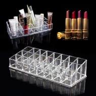 24 Slot Acrylic Lipstick Stand / Holder **4.5 Stars**