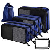 Homitt Packing Cubes Bags 7 Set, Packing Cubes for Travel Suitcase-Small