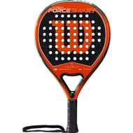 Wilson Carbon Force Smart Padel Racket - Black/Orange