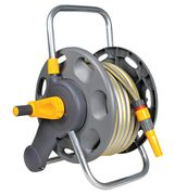 PRICE DROP! Hozelock 2-in-1 Hose Reel with 25m Hose